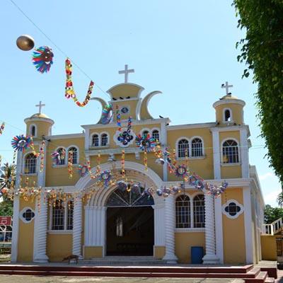 Iglesia San Miguel Panán Suchitepéquez