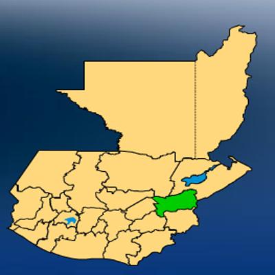 Mapa Departamento Zacapa
