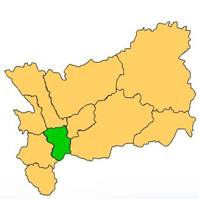 Mapa Huité