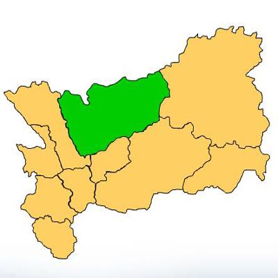 Mapa Río Hondo Zacapa