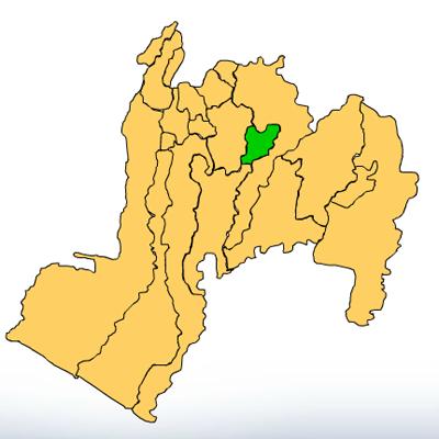 Mapa San Miguel Panán