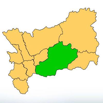 Mapa Zacapa