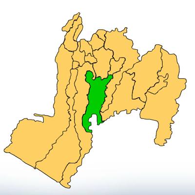 Mapa de San José El Ídolo