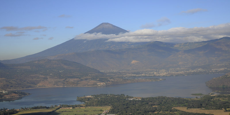 Amatitlan Guatemala Lago
