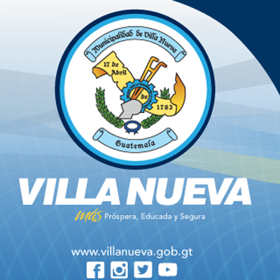 Escudo municipal Villa Nueva Guatemala