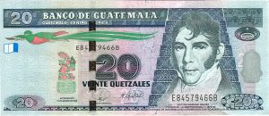 Guatemala-billete-20-quetzales-mariano-galvez