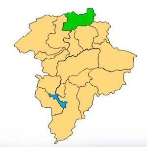 Mapa Chuarrancho Guatemala