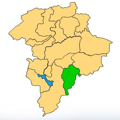 Mapa Fraijanes Guatemala
