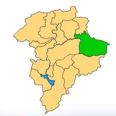 Mapa Palencia Guatemala