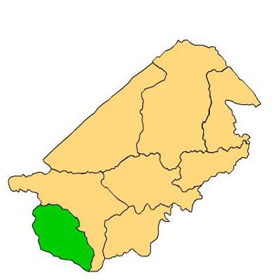 Mapa San Antonio La Paz