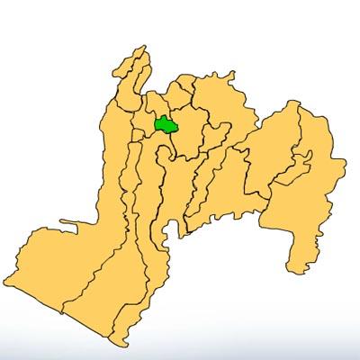 Mapa-San-Bernardino-Suchitepéquez-Guatemala