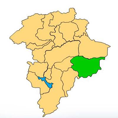 Mapa San Jose Pinula Guatemala