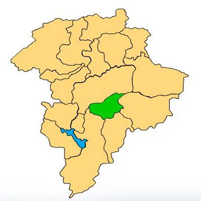 Mapa Santa Catarina Pinula
