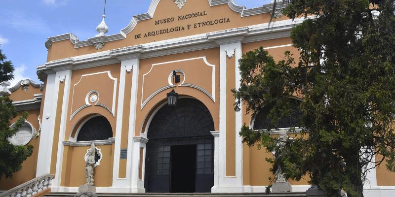 Museo Nacional de Arqueología y Etnología en Guatemala
