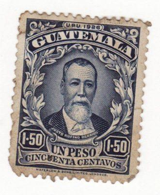 Presidente Justo Rufino Barrios 1873-1885