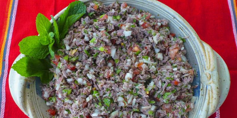 Cómo hacer salpicón guatemalteco