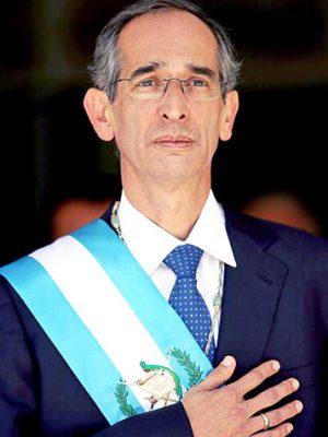 Expresidente Álvaro Colom