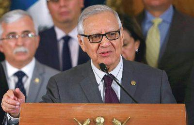 Expresidente Alejandro Maldonado