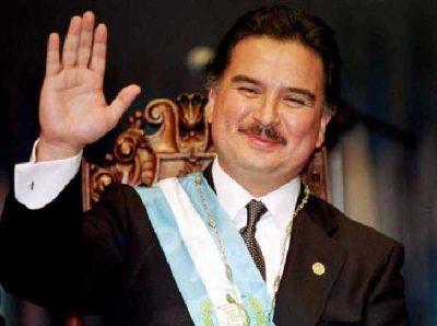 Expresidente Alfonso Portillo
