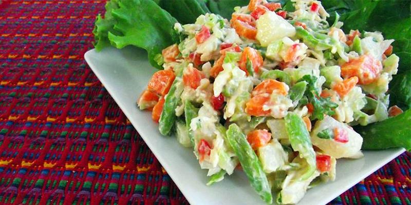 Fácil receta para hacer Ensalada Rusa guatemalteca