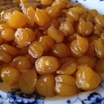 garbanzos en miel