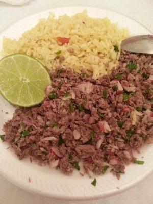 ingredientes del salpicón guatemalteco