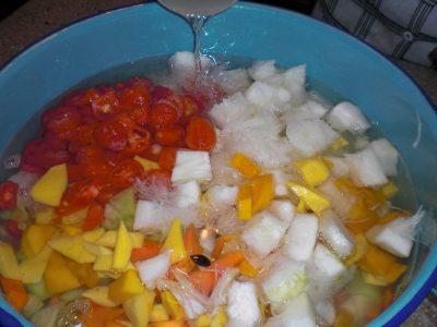 Ingredientes para hacer Postre de Frutas
