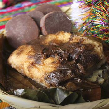 Receta para hacer Tamales Negros guatemaltecos