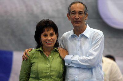 Sandra y Álvaro Colom