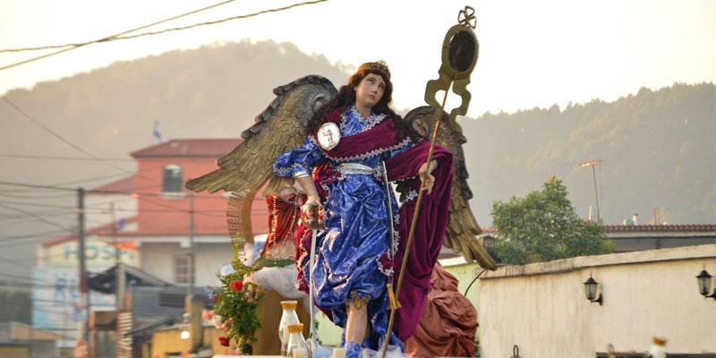 fiesta patronal de san miguel petapa