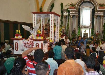 procesion de santiago apostol jocotan