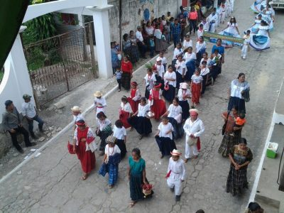desfile inaugural de lanquin
