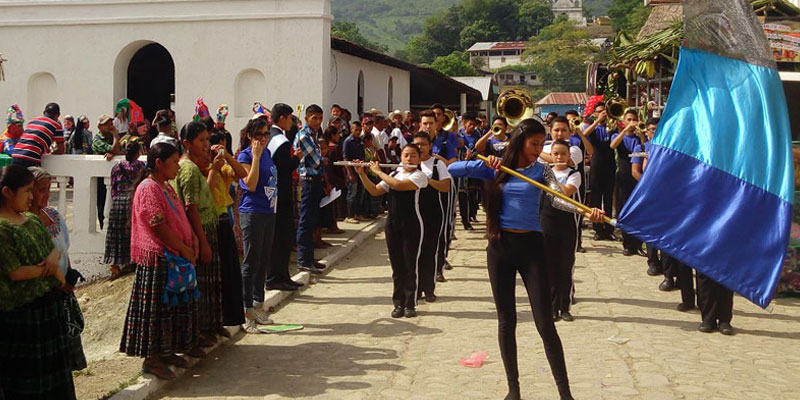 fiesta patronal de lanquin