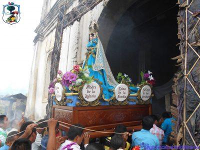 procesion fiesta patronal de cahabon