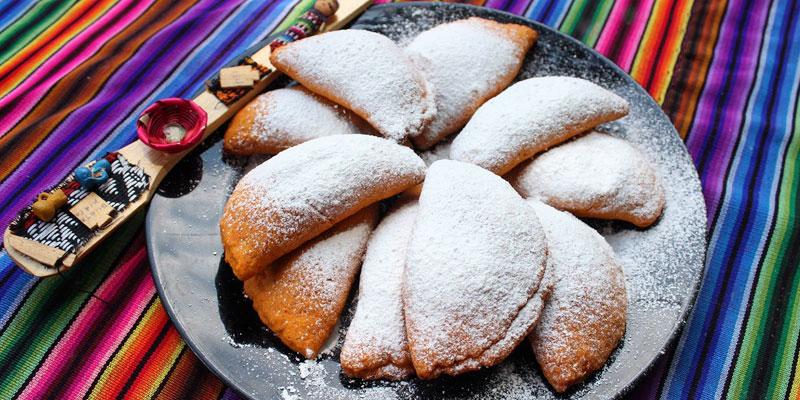 receta para hacer empanadas de manjar
