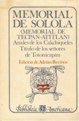 Adrián Recinos historiador guatemalteco