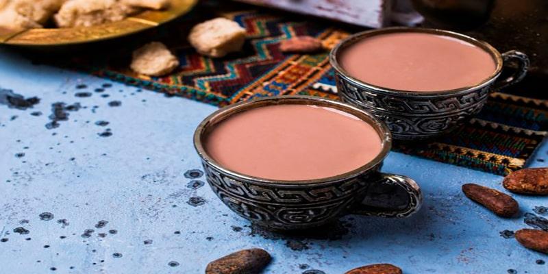 Atol de arroz con leche, cacao - Foto Cocina Delirante
