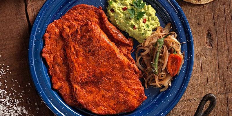 Cómo hacer un churrasco de carne adobada guatemalteco