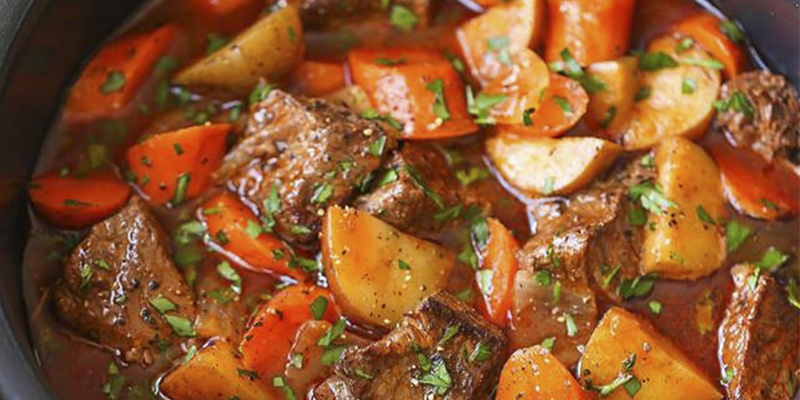 Cómo hacer un estofado de carne guatemalteco