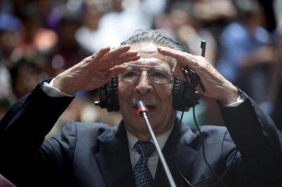 Exdictador Efraín Ríos Montt