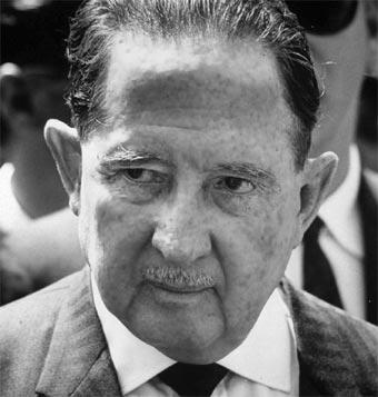 Expresidente Ydígoras Fuentes