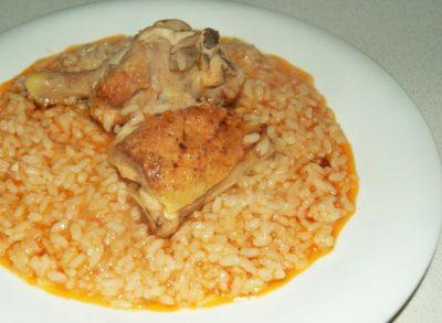 Ingredientes del arroz con pollo