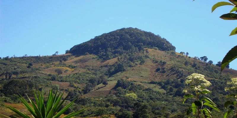 Volcán Alzatate en Guatemala