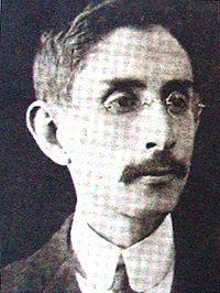Poeta Rafael Arévalo Martínez