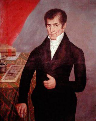 Presidente José Cecilio del Valle 1824-1825