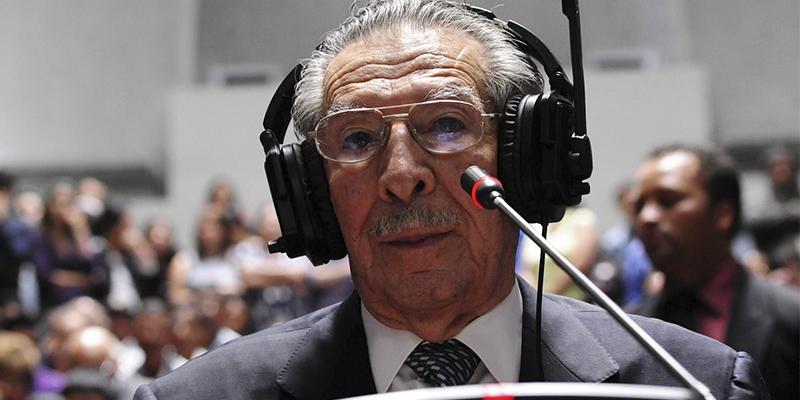 Presidente José Efraín Rios Montt 1982-1983