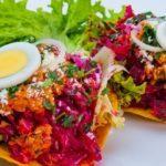 Receta para hacer Enchiladas guatemaltecas
