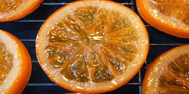 Receta para hacer naranjas confitadas