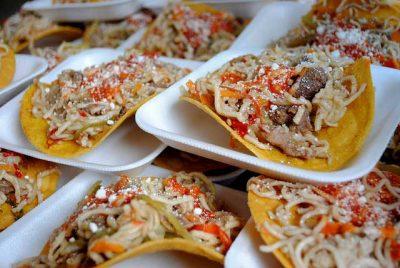 Tostadas de Chow Mein