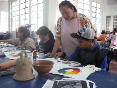escuela municipal de pintura